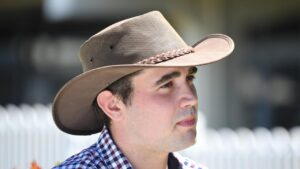 Young Cranbourne trainer Alexander Rae will attempt to get Secret Palace back to winning form at Sale on Friday. Picture: Racing Photos via Getty Images