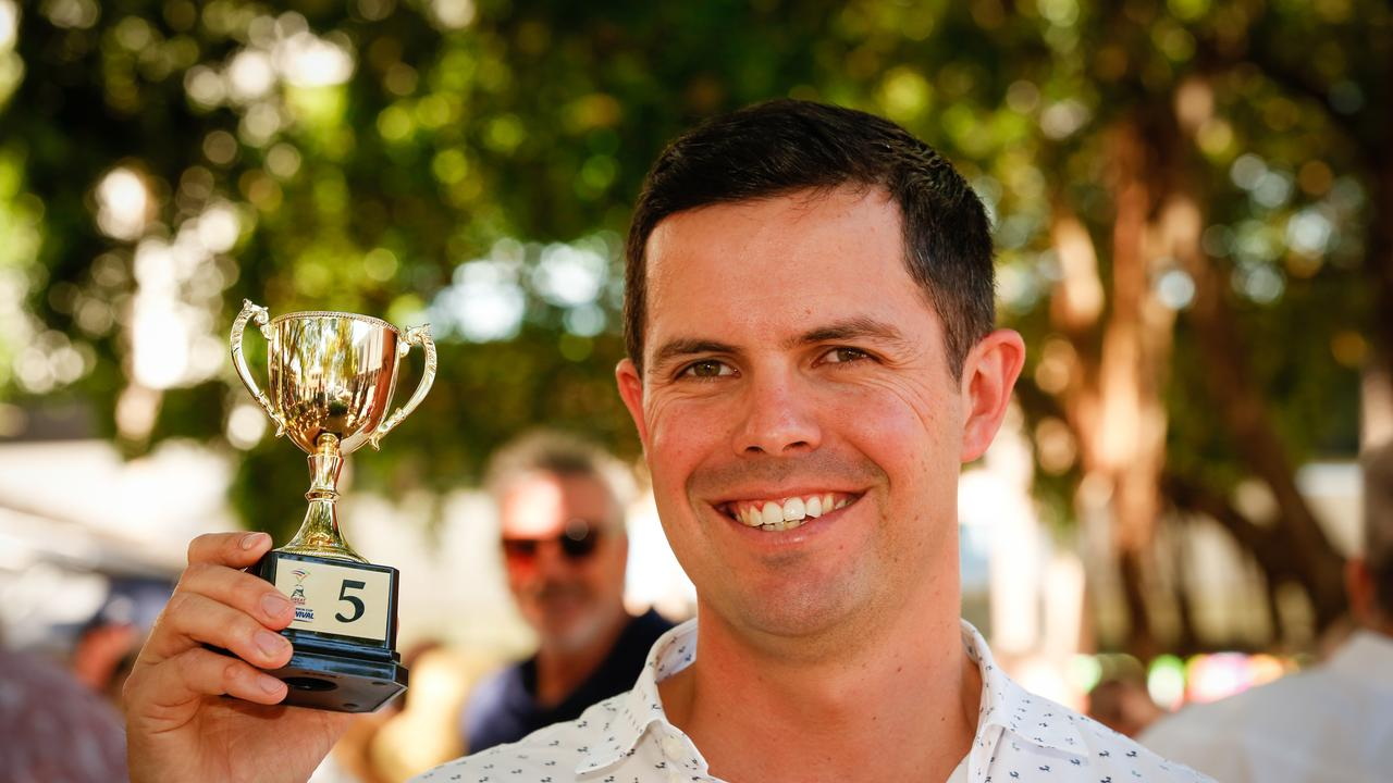 Michael Hickmott is giving the opposition plenty to chase in the race for the SA trainers title. Picture: Glenn Campbell