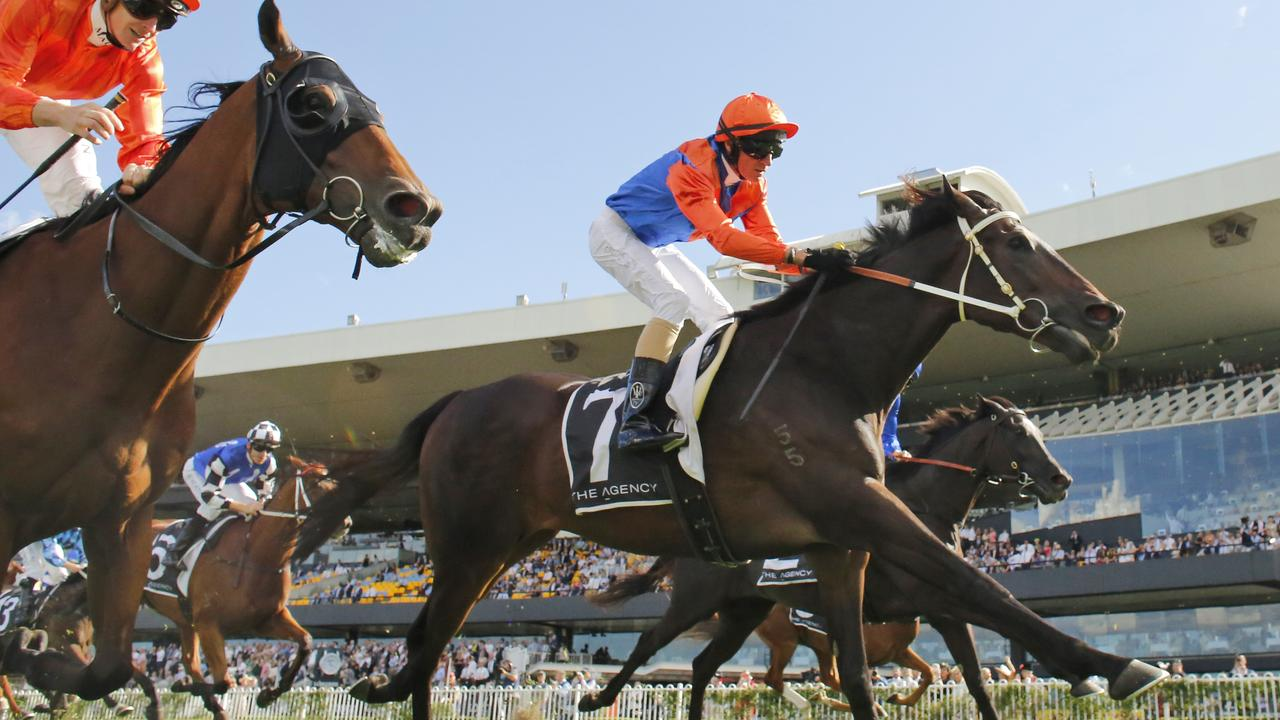 George Ryder Stakes winner Think It Over is being set for the Cox Plate. Picture: Getty Images