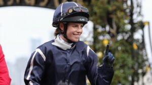 Jess Eaton holds a three-win lead over Todd Pannell in the South Australian jockeys' premiership. Picture: Getty Images