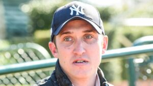 Trainer Nick Ryan will give promising debut winner Mynumerouno a chance to stay unbeaten at Sandown Hillside. Picture: Racing Photos via Getty Images