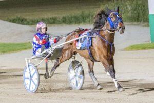 Majestuoso winning at Tabcorp Park in December pic: Stuart McCormick