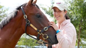 Annabel Neasham has achieved so much in her first season as a trainer. Picture: Toby Zerna