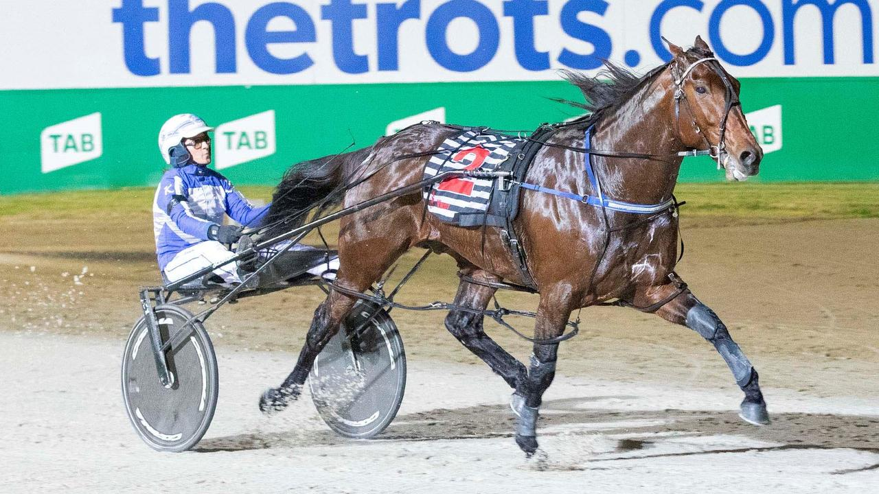 Ride High in action at Melton. Picture: Raceday Photos