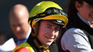 Expect jockey Harry Coffey to be in the winner's stall a few times over the two-day Mildura Cup carnival. Picture : AAP.