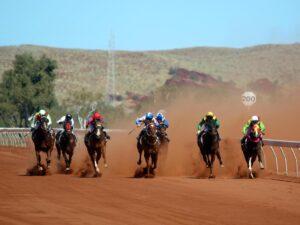 The Roebourne races. Photo: Alicia Perera.