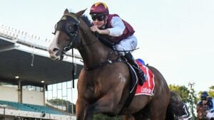 Streets of Avalon won the Group 2 Australia Stakes first-up in January. Picture: Racing Photos