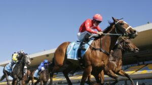 Tommy Berry wins on Tycoonist wins at Rosehill Gardens