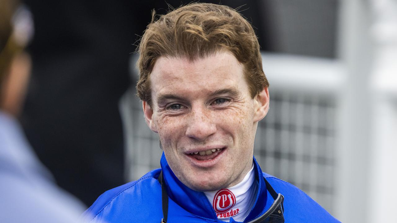 Apprentice Reece Jones can tick over three-figures for the season at Scone on Monday. Picture: Jenny Evans–Getty Images