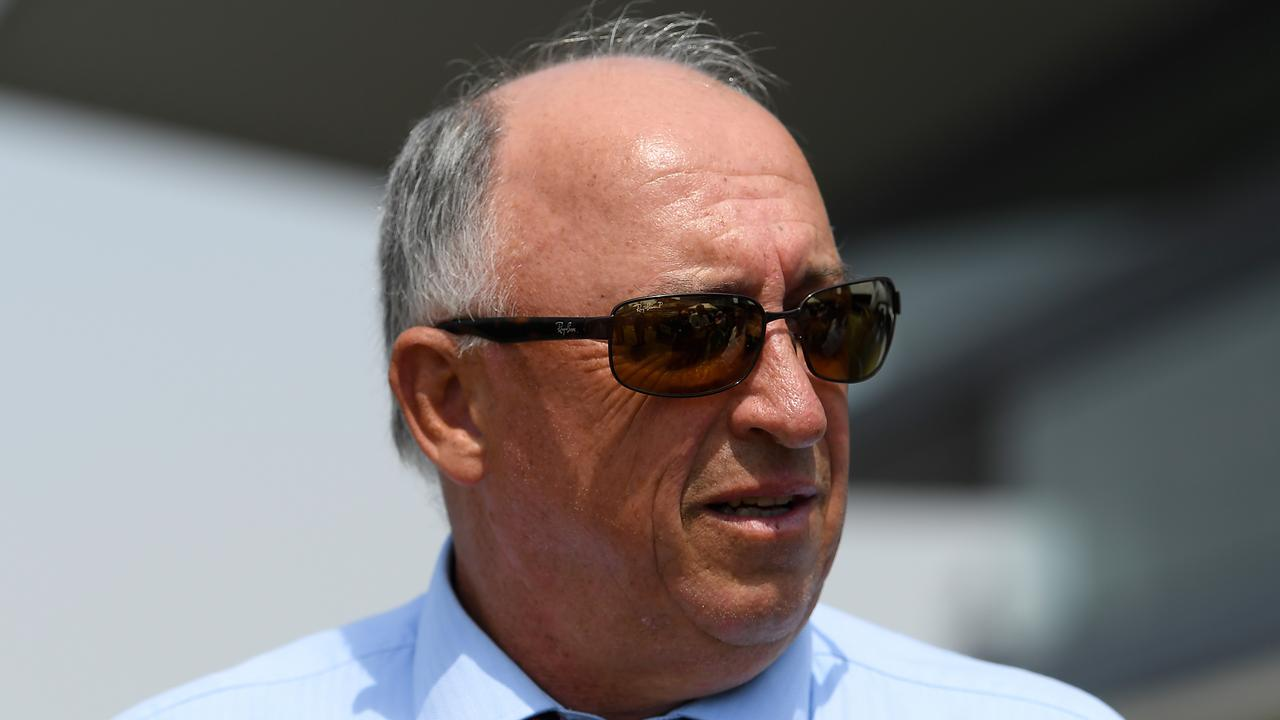 Leading Brisbane trainer Robert Heathcote says the Eagle Farm racecourse needs to be ripped up and replaced. Picture: AAP