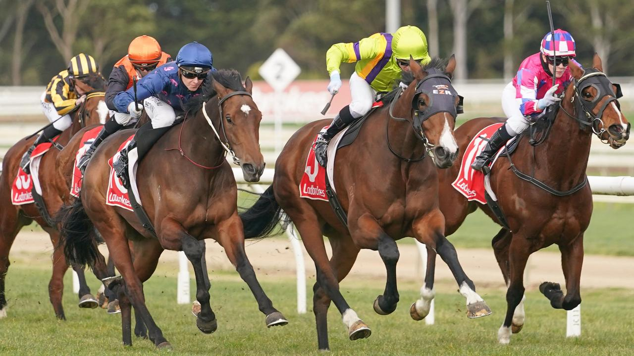 The Sale Racecourse will host Victoria's first Good Friday race meeting. Picture: Racing Photos via Getty Images