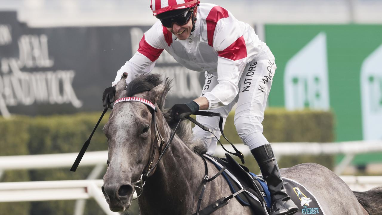 The Everest winner Classique Legend sits second in TAB markets for the VRC Sprint behind Nature Strip. Picture: Grant Guy