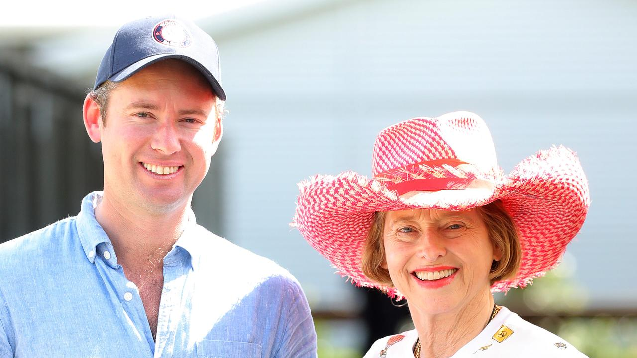 Co-trainers Gai Waterhouse (right) and Adrain Bott have a high opinion of imported gelding Surf Dancer who runs in the Moet and Chandon Handicap (1400m) at Randwick on Saturday.