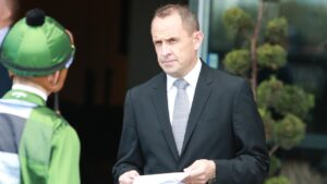 Champion trainer Chris Waller can achieve a new person best tally of winners as he claims his 11th straight Sydney trainers' premiership. Picture: Grant Guy