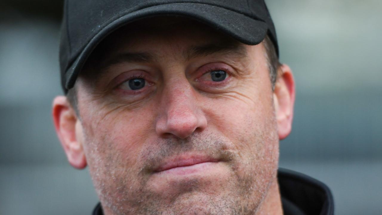 Trainer Tony Gollan. Pic - AAP.