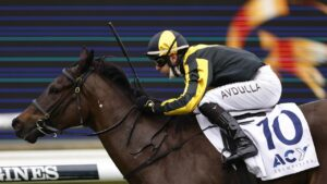 Sky Command faces her biggest test in the Rosebud. Photo: Mark Evans/Getty Images