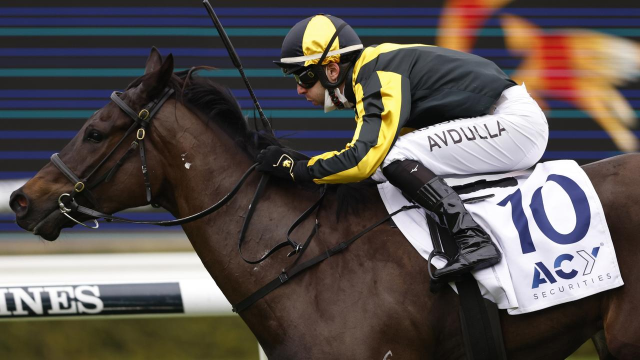 Gary Portelli's unbeaten filly Sky Command has been nominated for Saturday's The Rosebud at Randwick. Photo: Getty Images