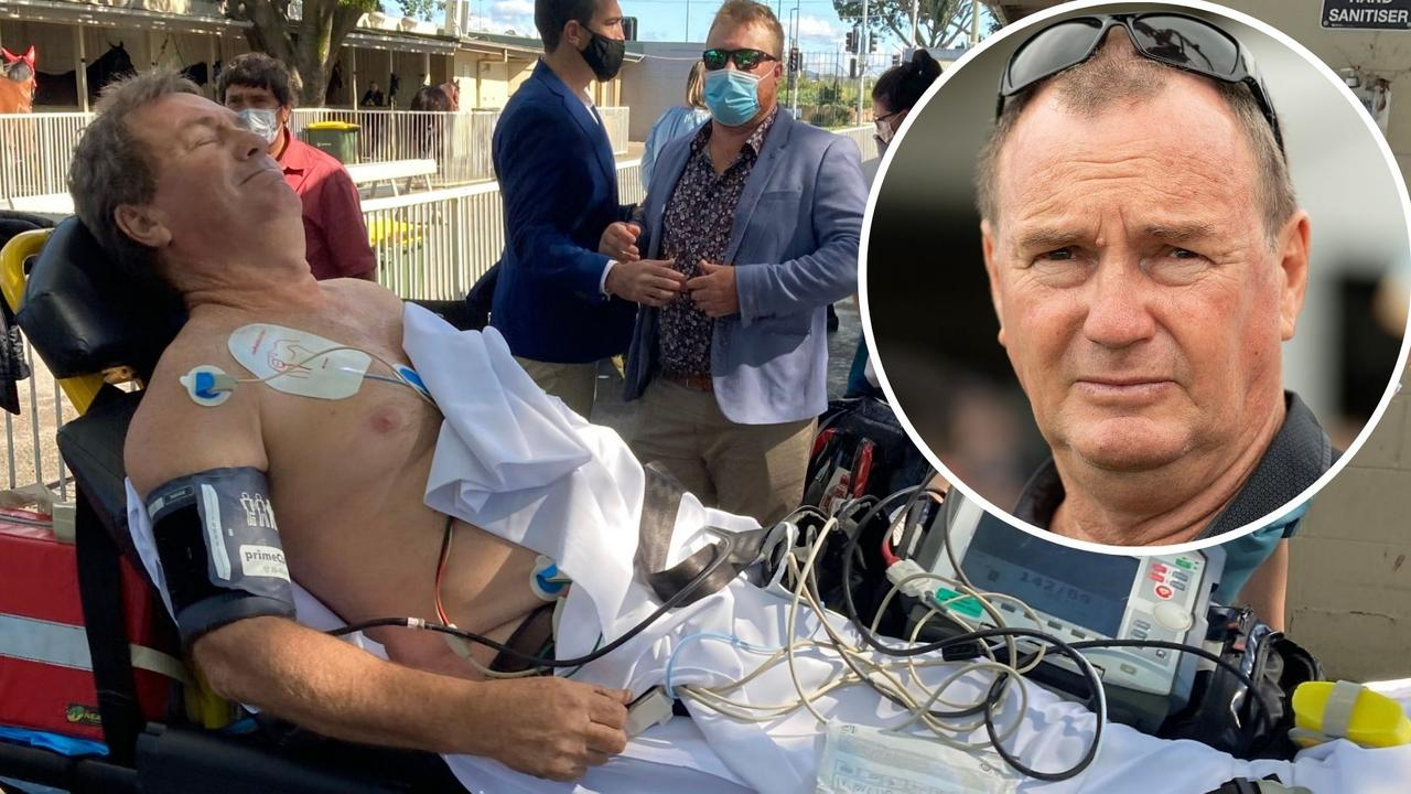 Racing trainer Gary Duncan is out of hospital and hoping to return to the track in the coming weeks after suffering a heart attack at Doomben. Picture: Ben Dorries