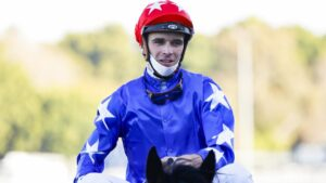 Sam Clipperton was suspended at Wednesday's Kensington meeting. Picture: Getty Images
