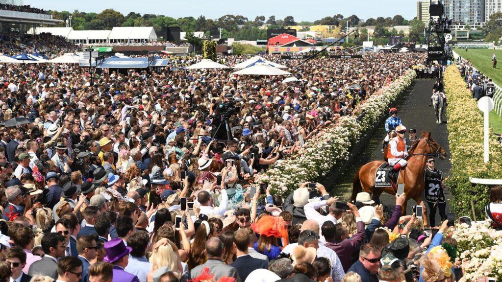 Spring Carnival Crowds