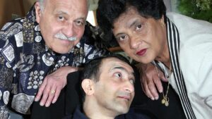 Noel and Doris Thurgood with Ricky back in 2005.