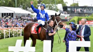 Winx will be served by Pierro. Picture: Jay Town