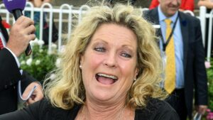 Trainer Angela Davies has an exciting mare in Pleading who is shooting for four straight wins at Gosford on Friday. Picture: AAP Image