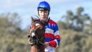Gary Lo claimed the SA section of the National Jockey Trust series. Picture: Racing Photos via Getty Images