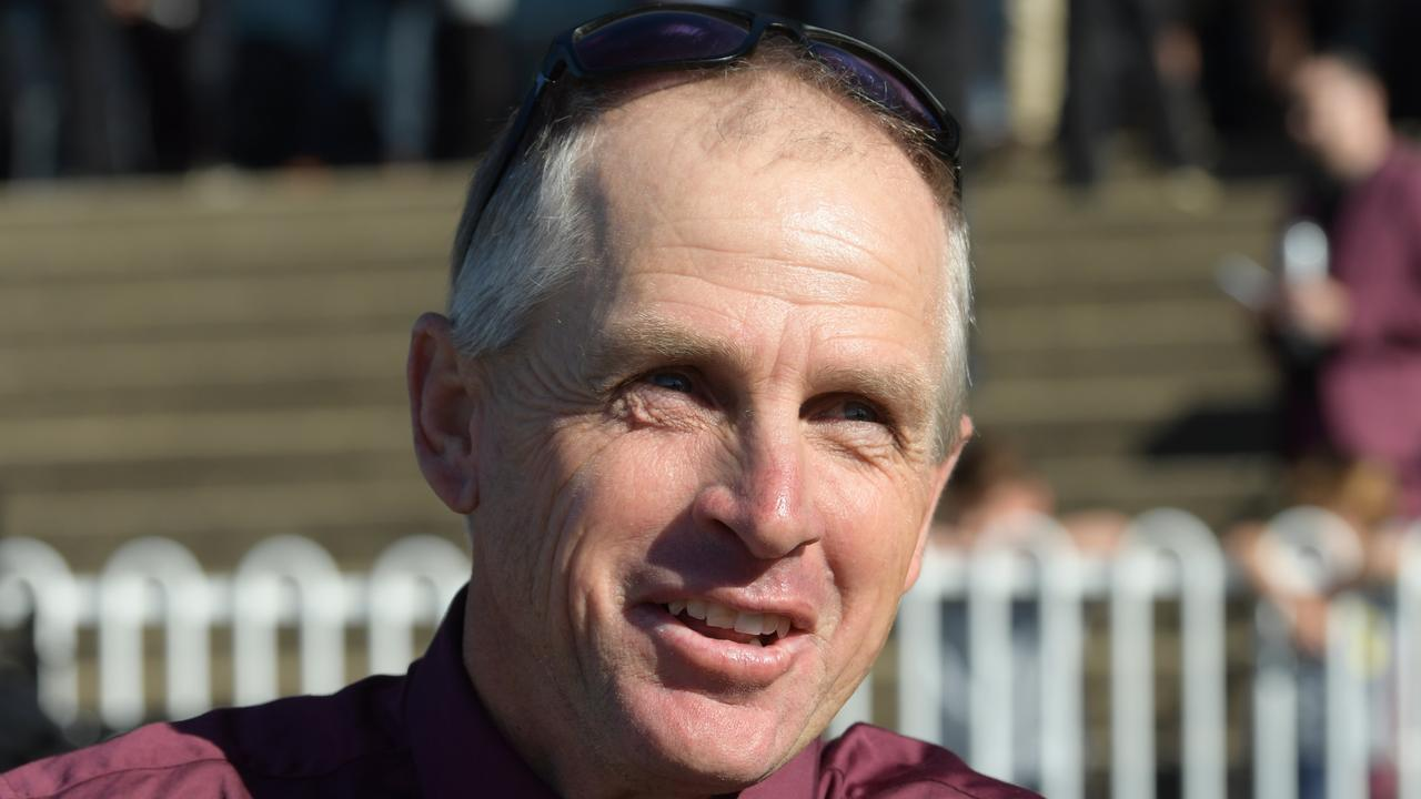 Trainer Wayne Wilkes (pictured) and his son and co-trainer, Joel. have a couple of good chances at Taree on Tuesday. Picture: AAP Image