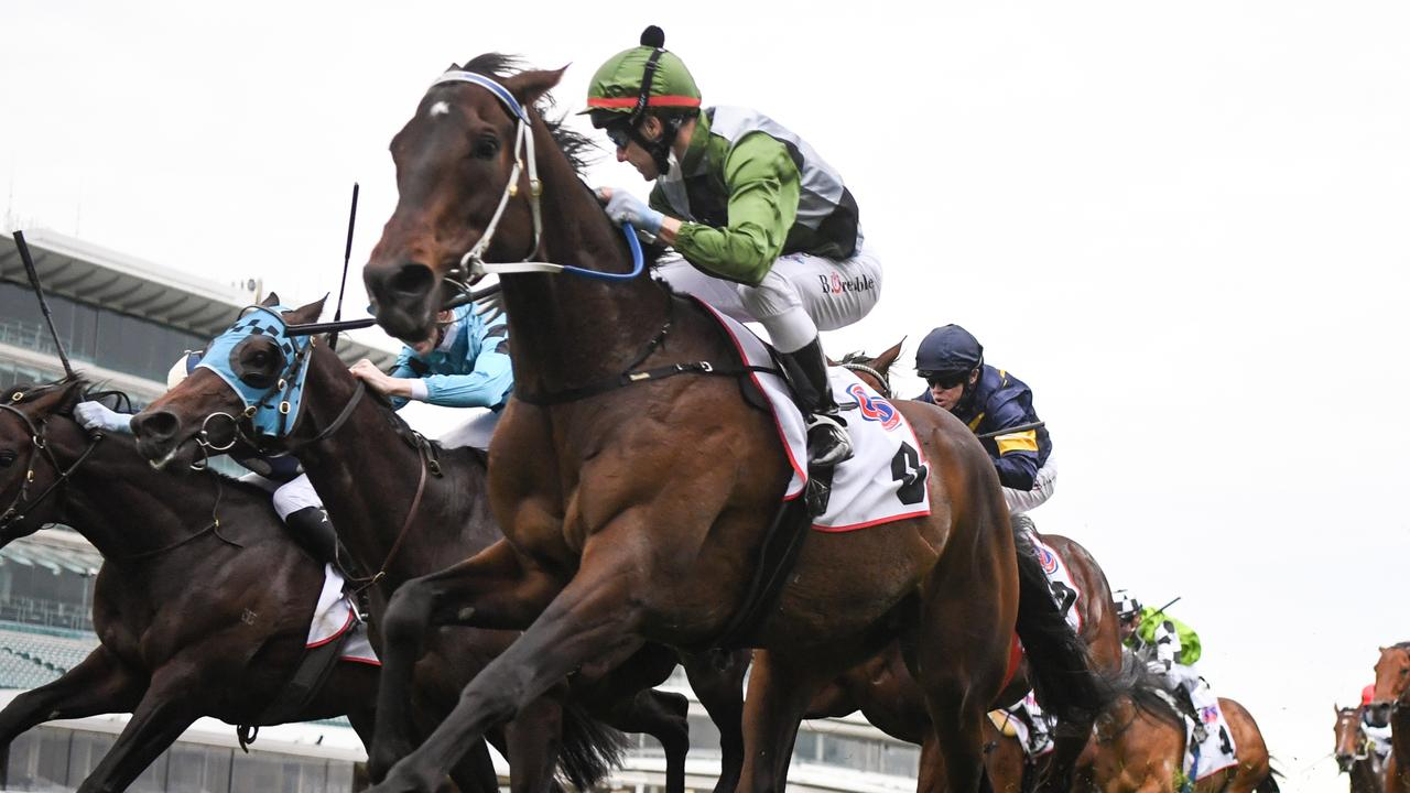 Incentivise was given 55.5kg for the Caulfield and Melbourne Cups. Picture: Racing Photos via Getty Images
