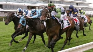 Racing participants in Victoria, including jockeys, will need to be vaccinated. Picture: Racing Photos