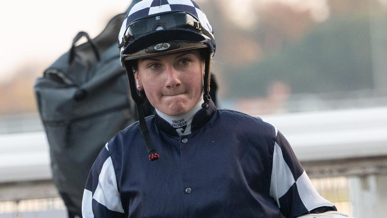 Jamie Kah pleaded not guilty to giving false and or misleading evidence to stewards. Picture: Tony Gough