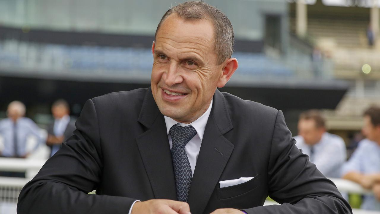 Champion trainer Chris Waller can land his 500th stakes winner this weekend. Picture: Getty Images
