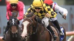 Mallory runs in the Tea Rose Stakes at Randwick. Picture: Getty Images