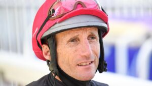 Champion jockey Damien Oliver has four rides for the Leon and Troy Corstens camp at Friday's Geelong meeting. Picture: Racing Photos via Getty Images