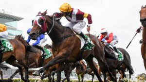 Tough mare Shout The Bar is ready to show her best as she steps up to 1600m in the George Main Stakes. Picture: Racing Photos via Getty Images