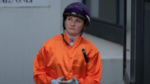 Jamie Kah was handed an extra two-month ban for misleading stewards on top of her three-month suspension for breaking Covid-19 protocols. Picture: Tony Gough