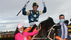 Sierra Sue won the Sir Rupert Clarke Stakes. Photo: Vince Caligiuri/Getty Images