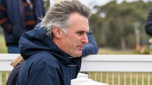 Tom Dabernig will give Lanch Pad his Australian debut at Horsham on Monday. Picture : Racing Photos via Getty Images.