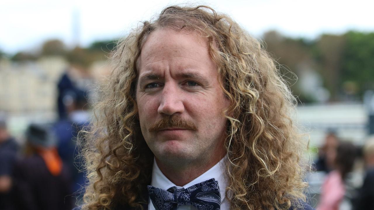 Ciaron Maher (pictured) and co-trainer David Eustace produced impressive two-year-old trial winner Coolangatta at Kensington on Monday. Picture: Grant Guy