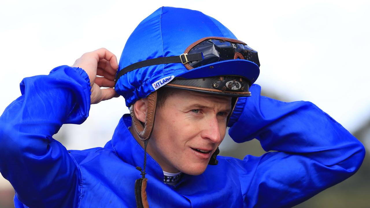 Star Sydney jockey James McDonald is an rough chance to ride in the Melbourne Cup. Picture : AAP.