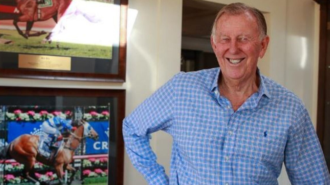 John Singleton has a very promising horse in his home-bred Cream Rises. Picture: Justin Lloyd