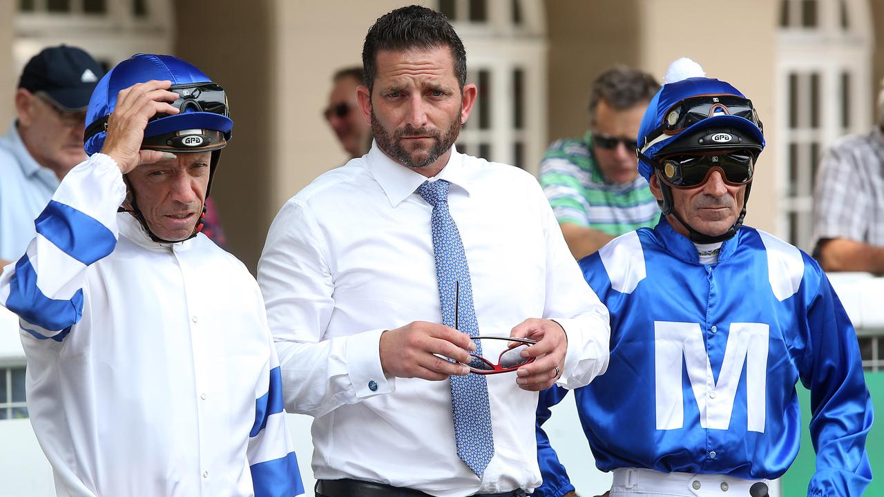 Paul Shailer in his former role working for Chris Waller. Picture: AAP