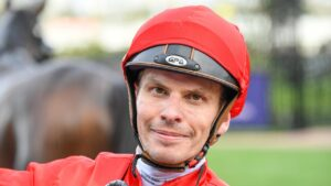 Ben Melham learns fate from Victorian Racing Tribunal. Picture: Racing Photos
