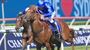 Talented sprinter Paulele can enhance hios chances for Godolphin's Everest slot with a win in the Heritage Stakes at Rosehill on Saturday. Picture: Getty Images