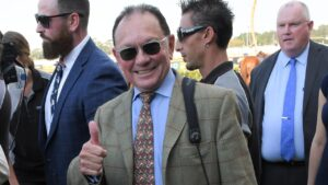 Trainer Gary Moore is targeting the inaugural Four Pillars with progressive gelding Much Much Better. Picture: AAP