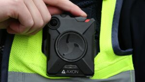 Body worn cameras are a staple of modern law enforcement. Picture: Alison Wynd