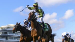Incentivise can win the Caulfield Cup and Melbourne Cup. Picture: Getty Images