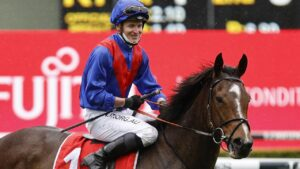 James McDonald is poised to reunite with Zaaki in the Cox Plate. Picture: Mark Evans–Getty Images