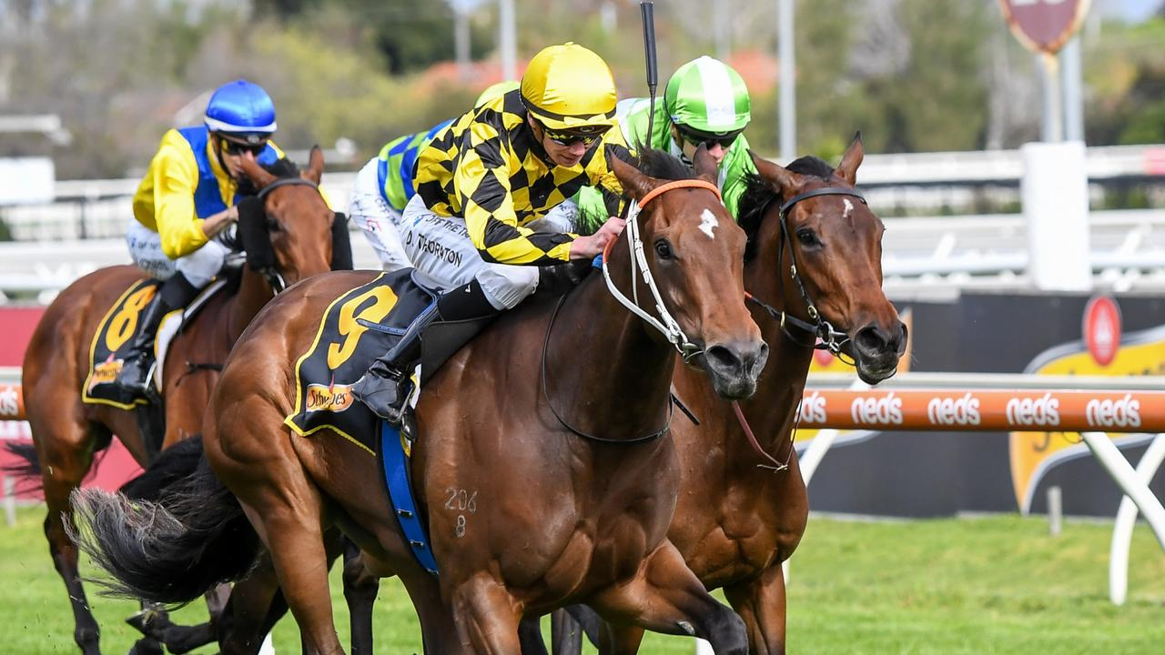 Yearning beats Elusive Express in the Thousand Guineas. Picture: Racing Photos via Getty Images